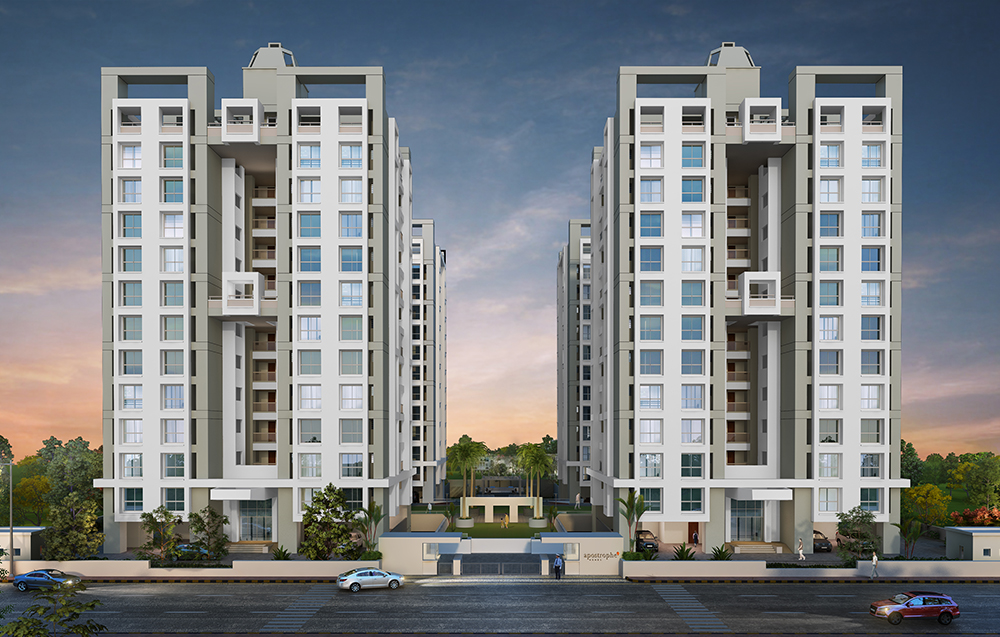 2bhk Flats in Moshi