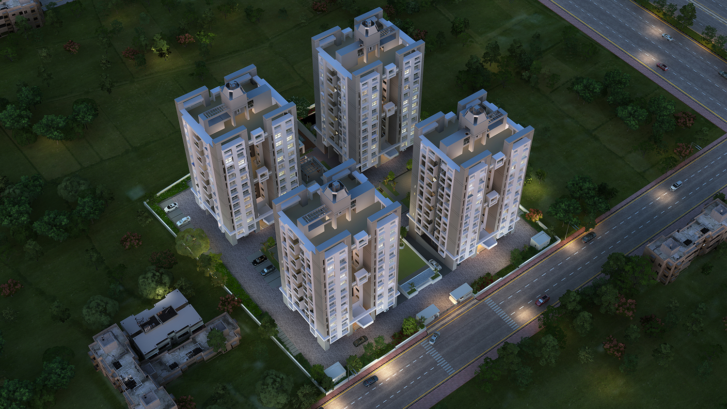 3bhk Flats in Moshi