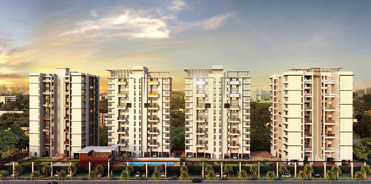 2 Bhk Luxurious Flat In Moshi Luxurious Apartments In