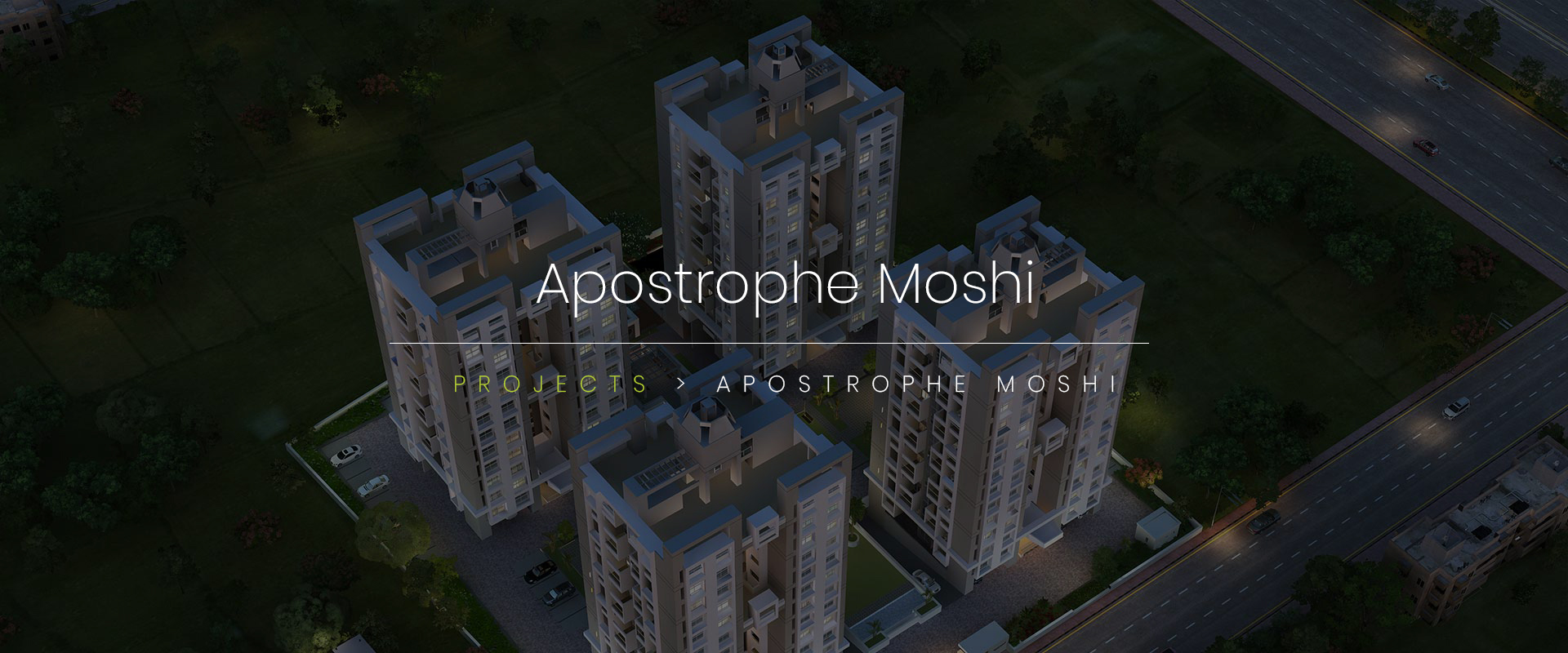 Experience Flowless construct | 2 & 3 BHK | Apostrophe Moshi