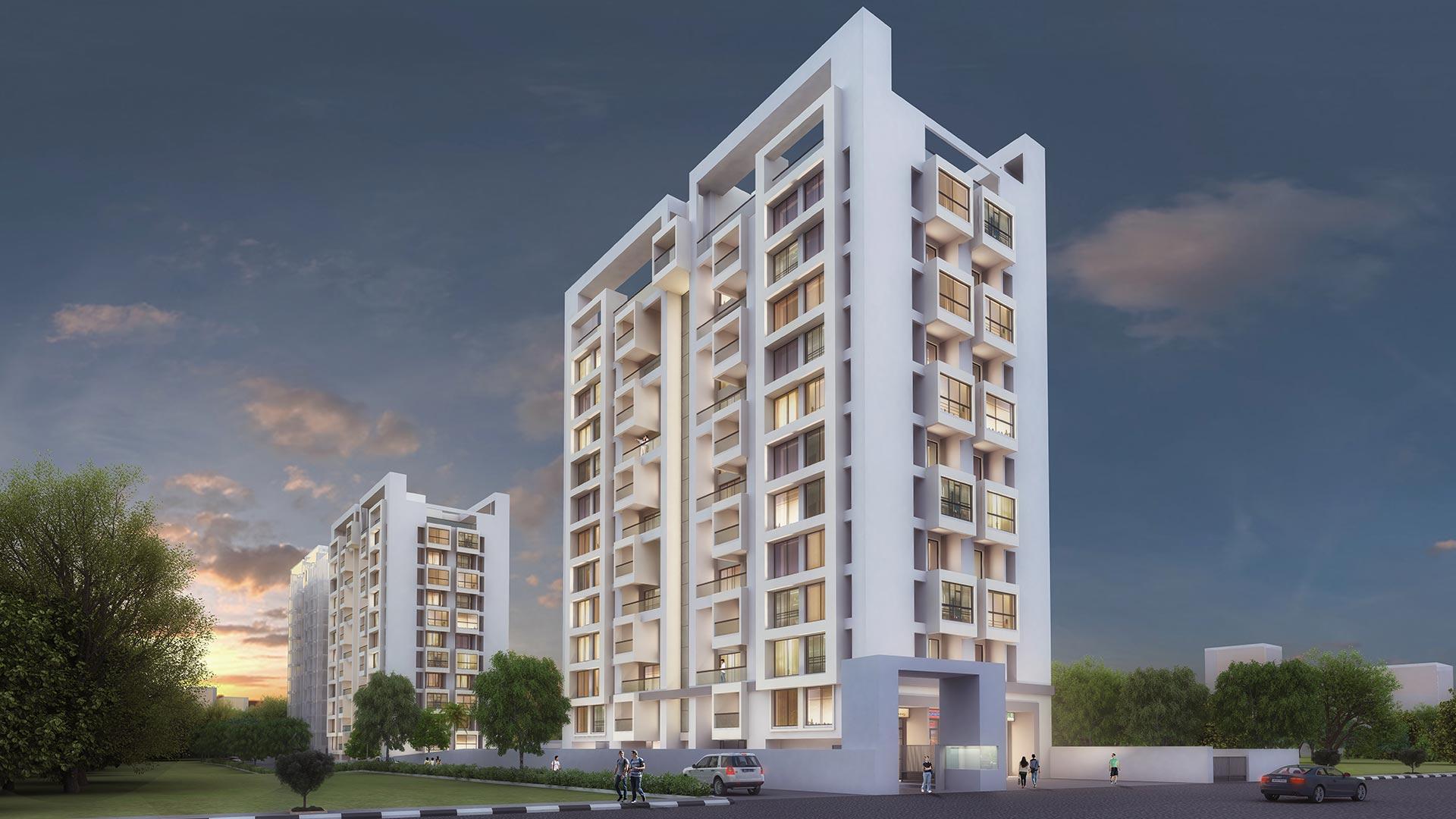Premium | 3 bhk flats in Pune Wakad