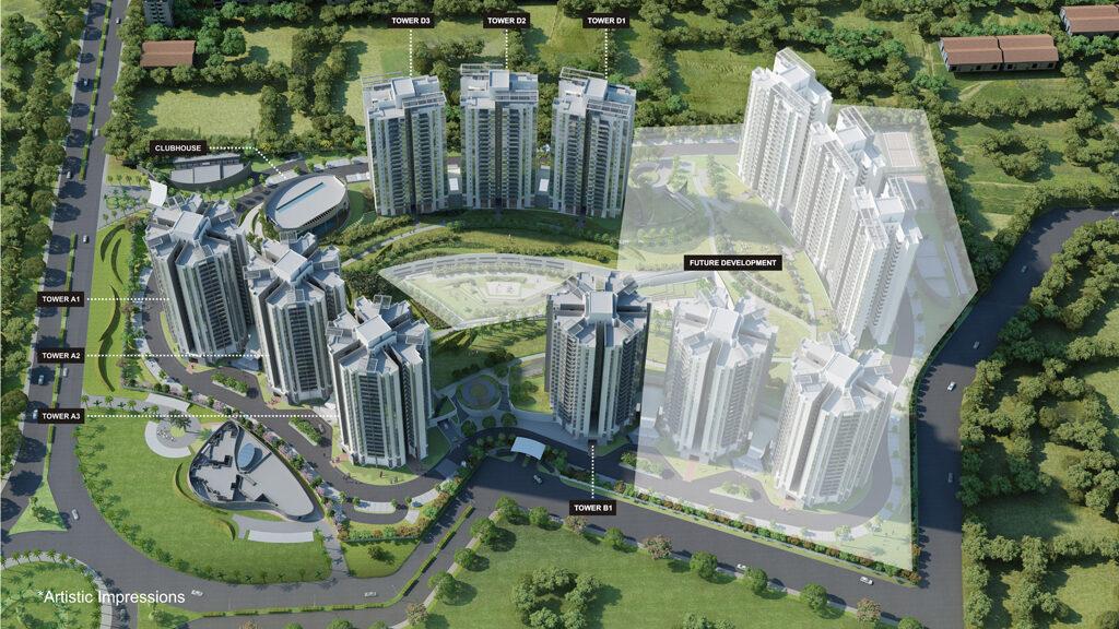 Master Plan | Site Plan for EON Homes Hinjewadi