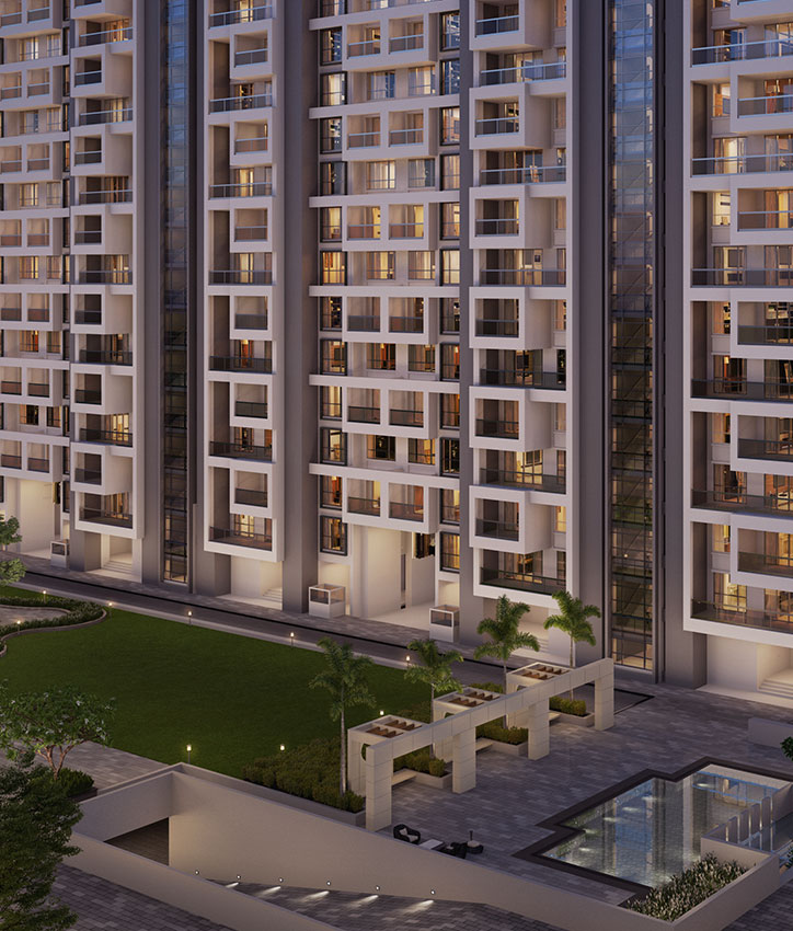 Premium | 4 bhk flats in Wakad Pune | New launch tower D