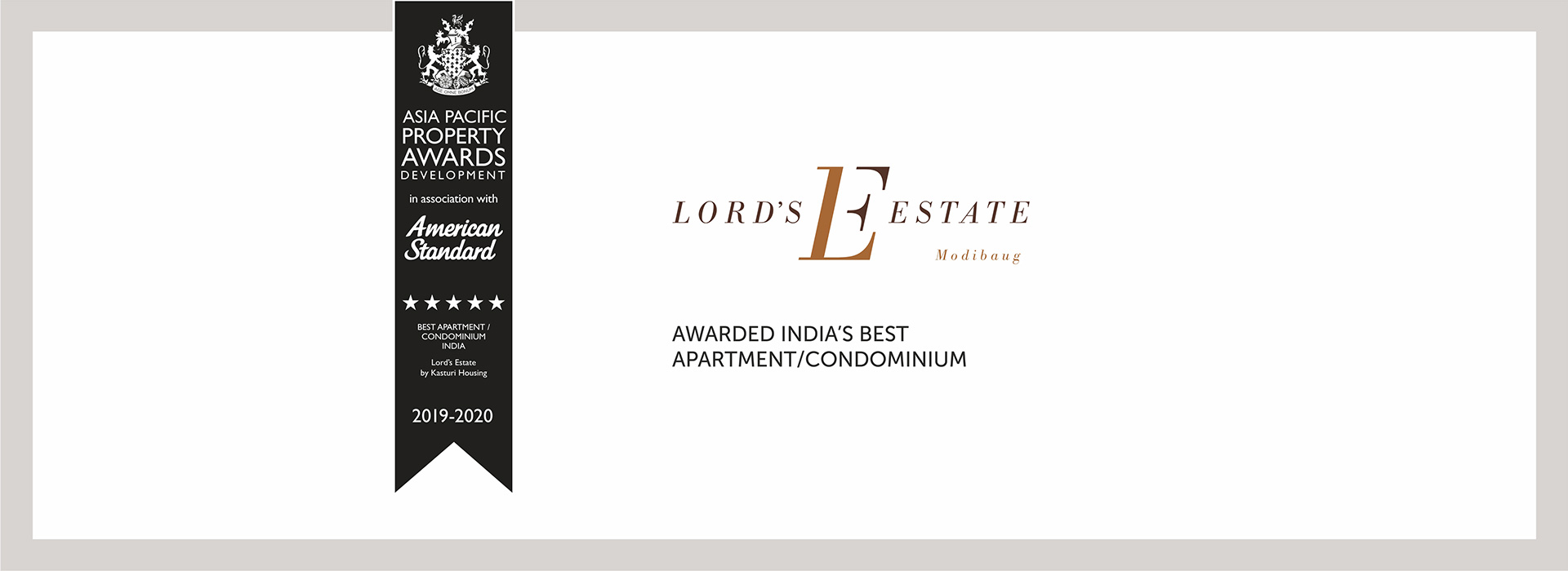 Lord's estate banner