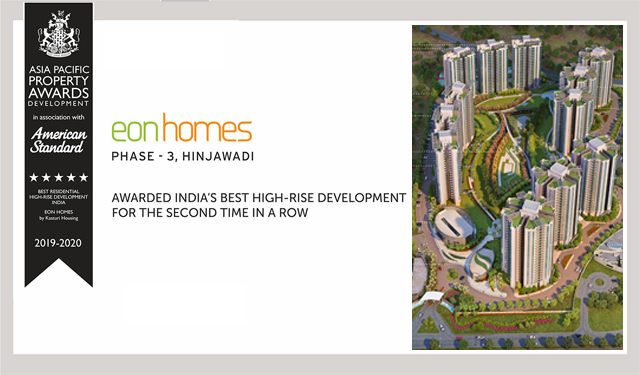 Asia Pacific Award Winning Apartments in Pune