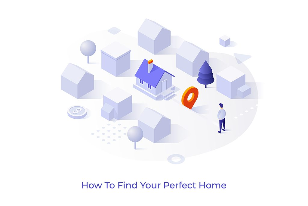 Men searching for dream home
